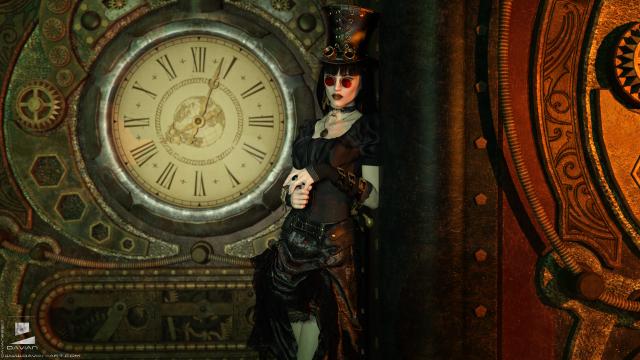 Steampunk, Lady Mechanika, Retro-Futurisme, Goggles