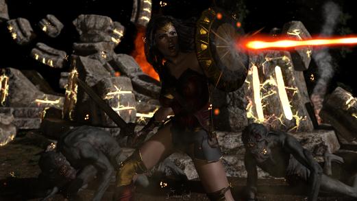 Kingdom of Hades_Wonder Woman 3D ArtBy Davian Art