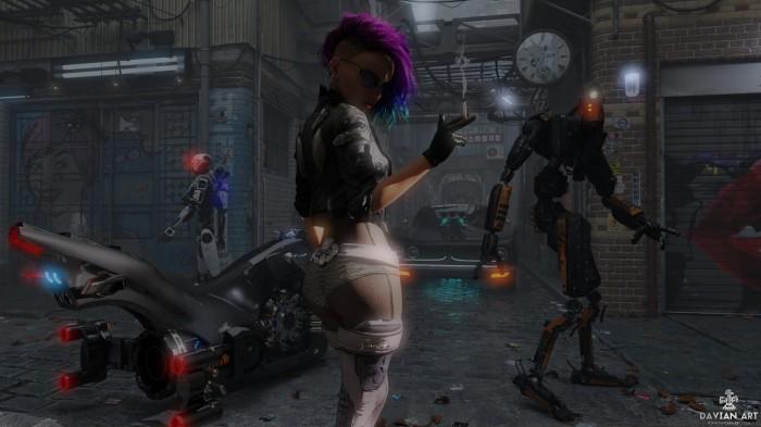 Cyber City , Year2118