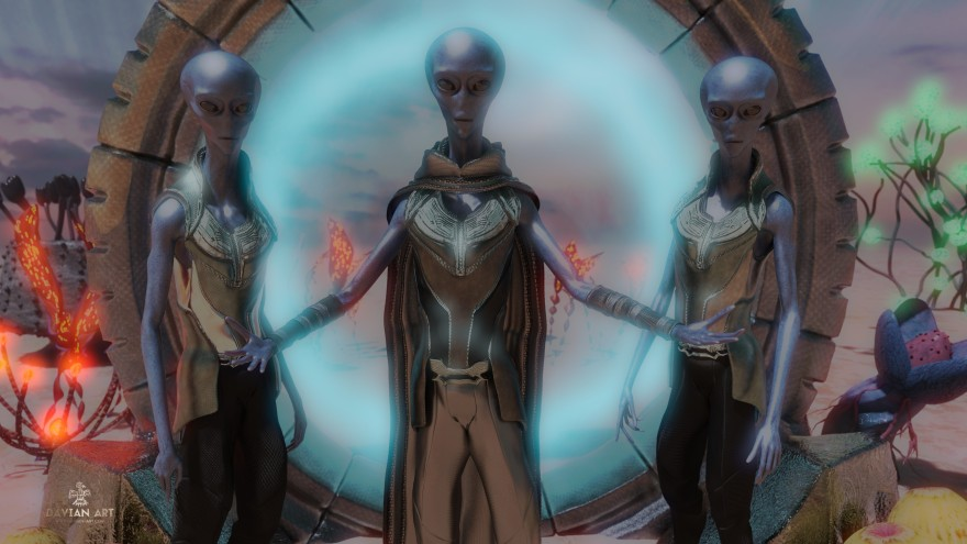 The Arcturians From Arcturus By Davian Art
