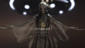Ancient Being By Davian Art