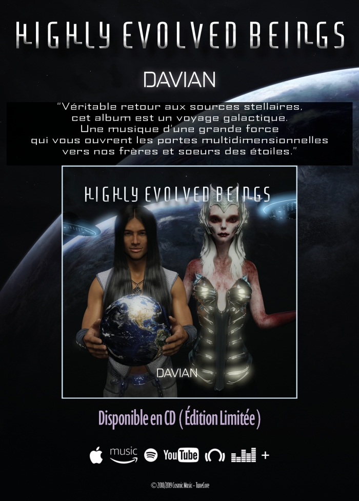 Highly Evolved Beings –CD