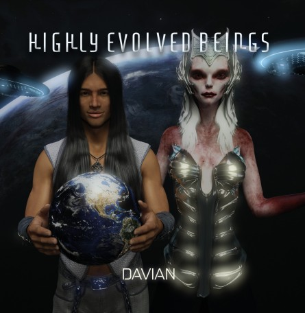 FrontCover_Davian_Highly Evolved Beings